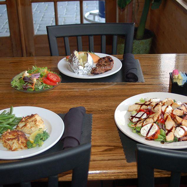 Dining at Fraizer's Restaurant